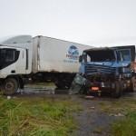 w0y1ks1xbht8 150x150 - Uma pessoa morre e outra fica ferida em acidente com caminhão e duas carretas na BR-364