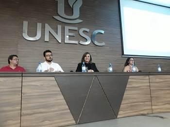 Jordana Ferreira ministra palestra em encontro com Acadêmicos