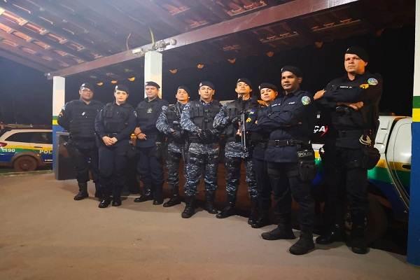 Operação Preventiva e Repressiva da Polícia Militar do Estado de Rondônia