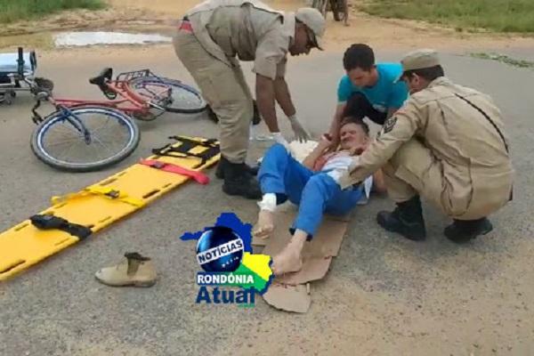 Homem que foi atropelado em Ji-Paraná, morre em Cacoal
