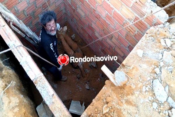 BARBÁRIE: Pedreiro mata irmão a marretadas e enterra corpo em fossa