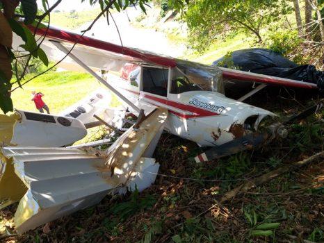 Avião pilotado por missionário cai em Apuí por falta de combustível