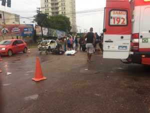 Trágico! Motociclista morre no dia do aniversário após se envolver em acidente na capital