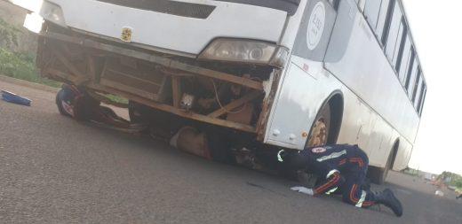 Jovem vilhenense morre atropelado por ônibus em Sapezal