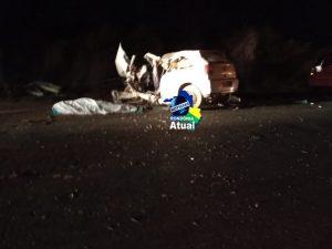 TRAGÉDIA! Três pessoas morrem após condutor inabilitado e sob efeito de álcool colidir em carreta próximo ao distrito de Nova Colina em Ji-Paraná