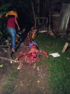 IMAGENS FORTES: Criminosos estouram cabeça de rival com vários tiros