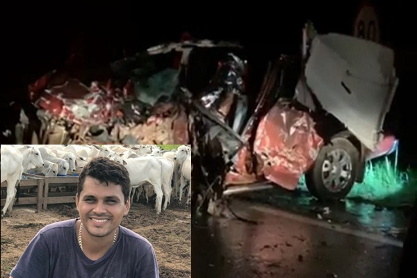 Proprietário da Agro Boi de Presidente Médici morre em gravíssimo acidente na BR 364