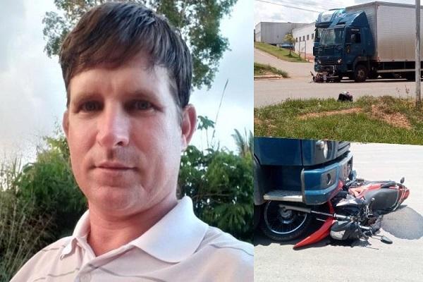 Câmera de segurança flagra momento exato de acidente que matou motociclista na BR-364