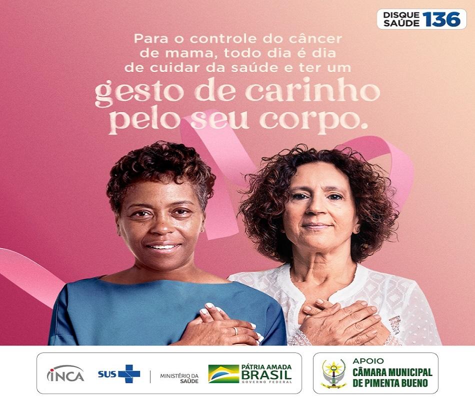 Campanha Outubro Rosa II – Câmara Municipal de Pimenta Bueno