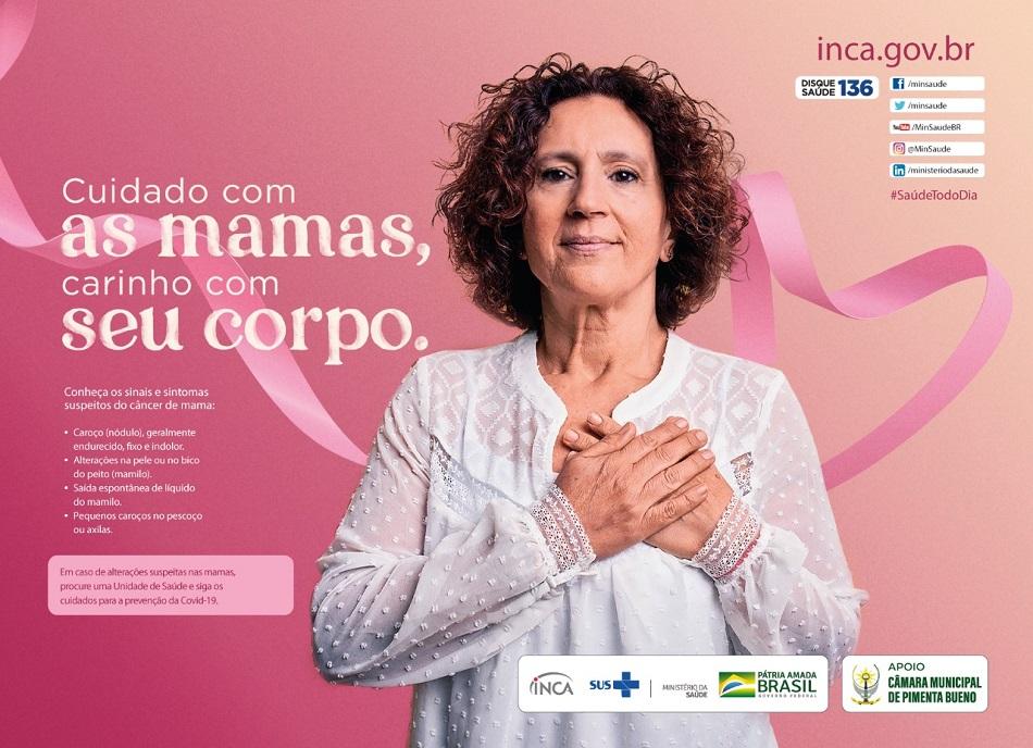 Campanha Outubro Rosa I – Câmara Municipal de Pimenta Bueno