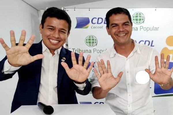 """Justiça Eleitoral manda retirar postagem com informações falsas e ofensas contra Adailton """"Fúria"""" em Cacoal"""