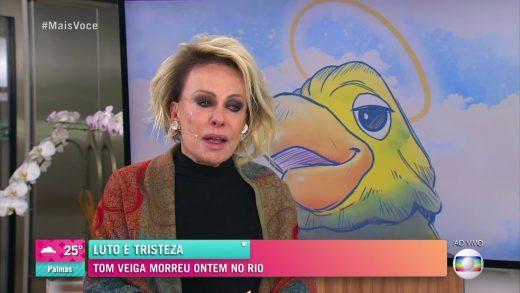 Roagora Ana Maria Braga Mais Você 520x293 - Ator Tom Veiga, intérprete do Louro José, do 'Mais Você', morre aos 47 anos