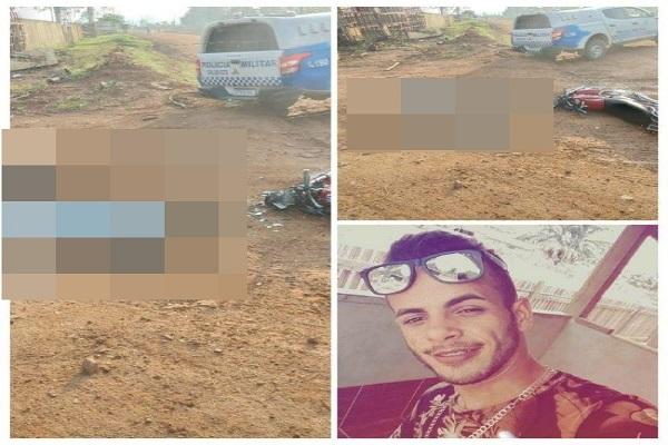 Roagora Jovem morre2 - Jovem morre em grave acidente de trânsito em Machadinho D'Oeste