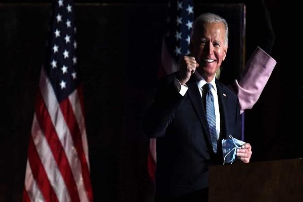 Roagora Mundo8 - 'Mantenham a fé, nós vamos vencer', diz Biden a apoiadores