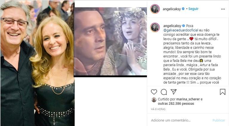 LUTO: Morre o ator Eduardo Galvão, aos 58 anos de idade