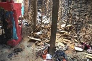 Criança de 3 anos tem corpo queimado após pai atear fogo em casa