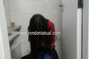 Garota é estuprada, roubada e presa em banheiro em Ji-Paraná