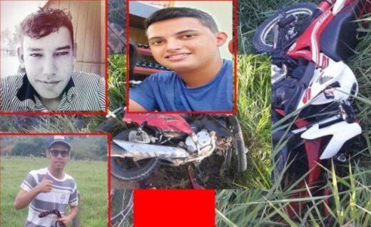 Três motociclistas morrem em grave acidente na zona rural de Buritis RO j 520x318 - Três motociclistas morrem em grave acidente na zona rural de Buritis, RO