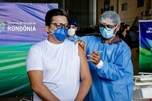 Vacinados contra a Covid-19 estão relacionados em plataforma digital do Governo de Rondônia