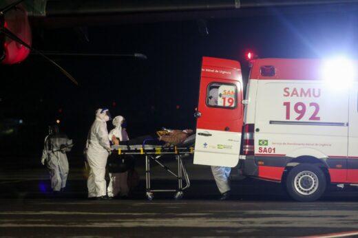 aviao fab min 520x346 - Portovelhenses infectados por COVID-19 desembarcam no Rio Grande do Sul