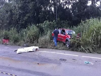 Motociclista morre em trágico acidente na BR 364 entre Cacoal e Pimenta Bueno c min - Motorista de picape morre em trágico acidente na BR-364 entre Cacoal e Pimenta Bueno