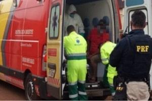 Caminhoneiro morre em grave acidente na BR-364