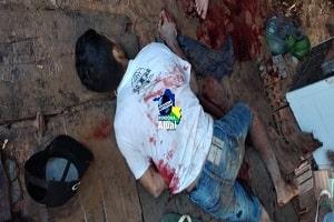 Discussão termina com venezuelano assassinado a facadas em Ji-Paraná