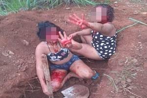 Jovens são capturadas e forçadas a cavar a própria cova antes de serem mortas