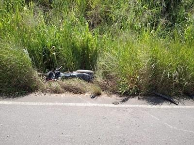 Motociclista morre após colisão frontal com carro no interior de Rondônia