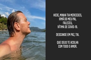 TRISTEZA! Michel Teló sofre grande perda na família, e faz desabafo sobre situação da pandemia no País: ''Muito triste o que estamos passando''