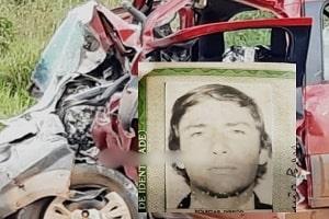 Idoso morre após colisão frontal com carreta na BR-364