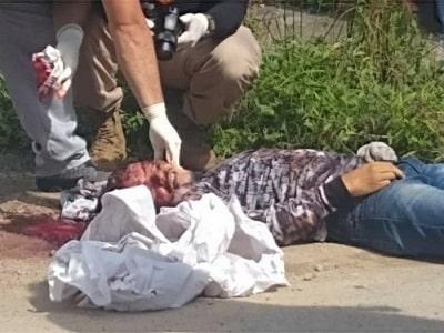 Mototaxista é assassinado com 12 tiros no AM - IMAGENS FORTES!