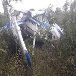 Avião de pequeno porte cai em MT