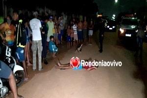 Em Porto Velho, dupla em moto tenta matar jovem a tiros