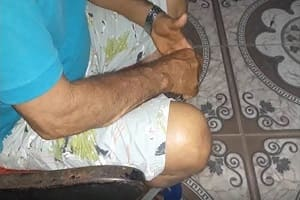 Adolescente é detido após invadir quarto e tentar matar pai a facadas