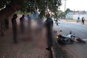 Mulher é morta a tiros e homem é baleado por dupla em Ji-Paraná