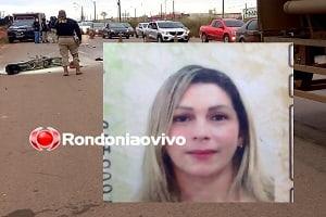 Mulher de 42 anos morre atropelada por carreta em Porto Velho