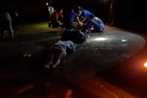 Mulher morre e namorado fica ferido em acidente na RO 459 em Alto Paraíso