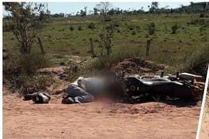 Dois homens são assassinados a tiros em Mirante da Serra