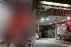 Homem acusado de estuprar criança leva tiro na testa e agoniza entre a vida e a morte; cenas fortíssimas