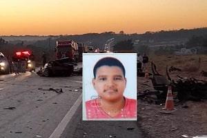 Jovem de 19 anos morre vítima de grave acidente na BR-364