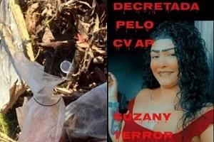 Jovem jurada de morte pelo Comando Vermelho acaba de ser encontrada sem cabeça; cenas fortíssimas