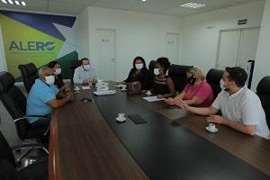 Presidente Alex Redano recebe direção da Associação de Pais e Amigos do Autista de Rondônia