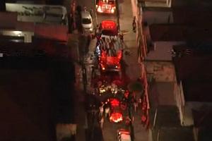 Três crianças morrem carbonizadas durante incêndio em residência