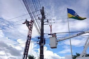 Ação da Energisa visa incorporar e restituir redes de energia de moradores de Jaru