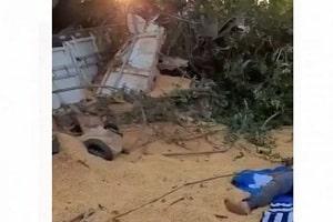 VÍDEO: Dirigindo carreta de Cerejeiras, caminhoneiro de 63 anos morre em acidente