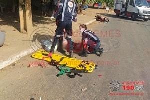 Duas pessoas morrem após colisão entre moto e carro em Ariquemes