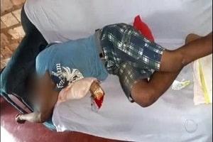 Marido é preso dormindo após espancar a mulher por ciúmes em festa