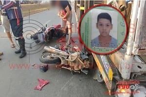 Motociclista de 20 anos morre após colidir na lateral traseira de carreta na BR 364 em Ariquemes
