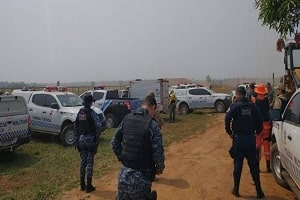 Duas pessoas morrem após confronto a tiros com policiais em área de conflito agrário